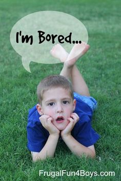 Simple Boredom Busters for Kids - A huge list of things for kids to do instead of being bored.  Something for everyone here!
