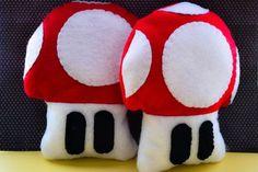Felt Mushrooms, Stars & Flower Power toys