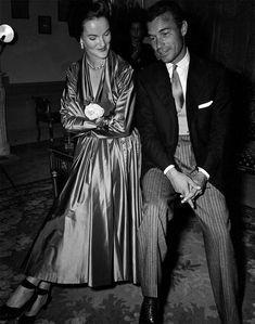 Porfirio Rubirosa with one-time wife Doris Duke