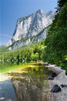 Lake Altausseer See n Mount Trisselwand, Salzkammergut Region, Styria_ Austria Austria, Beautiful World, Beautiful Places, Natural Structures, Heart Of Europe, Science And Nature, The Great Outdoors, Places To See, Nature