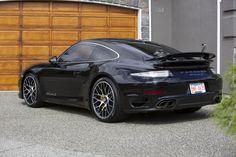 2015 Porsche 911 (991) Turbo S - Jet Black Metallic