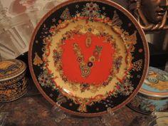 Versace Christmas Sparkling Medusa Plate Limited 2013 Rosenthal New Sale 18cm | eBay