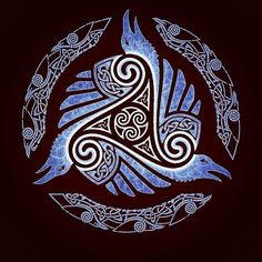 Viking Apparel that is inspired by Vikings and with Viking design, Now there's nothing stopping you from looking like a modern day Viking! Norse Tattoo, Raven Tattoo, Viking Tattoos, Celtic Tattoo Symbols, Viking Art, Viking Symbols, Celtic Patterns, Celtic Designs, Norse Pagan