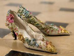 Vintage Vivier for Dior
