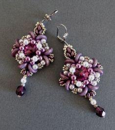 User Album hrivelote: Earrings Journal Beadwork