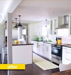 Kitchen Before & After: A Closed Off Kitchen Opens Up — Kitchen Remodel | The Kitchn