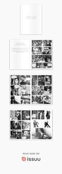 """DIAGONAL  2011 - Resina Autoproduzione una volta un amico mi ha portato in un locale che lui adorava. quando abbiamo raggiunto il posto ho avuto paura.... l'entrata era spettrale e buia, ma si trattava solo di un piccolo pub. le mie tavole sono state inserite all'interno del catalogo """"illustr@zione - gli illustratori della Scuola del Libro di Urbino 1930-2012"""" edizione giugno 2012"""
