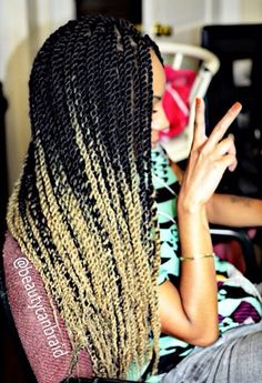 I love the ombre.... flyyyy!