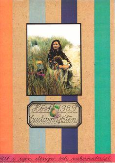 Gudrun Sjödén Catalogue - Fall 1989