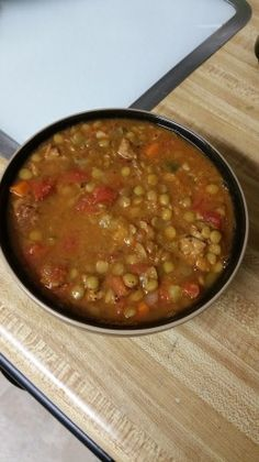 Added a teaspoon of each spice except a ½ t. pepper and 1/2 t. thyme, and a splash of red wine vinegar at the end. Added 2 cups water + 1 bouillon cube. Simmered one hour. So good!