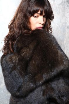 dark sable fur