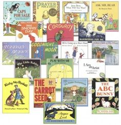 Before Five In A Row (BFIAR)   Literature Package for ages 2-4   (Fold & Learn Books & Book List)