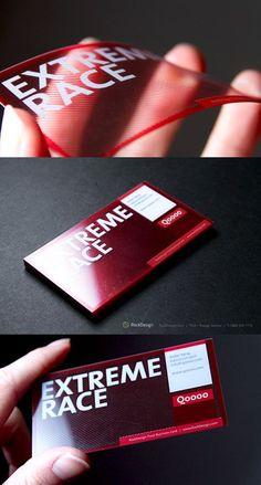 Business Card / Clear UV