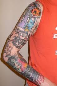 Resultado de imagen para Sandman tattoo