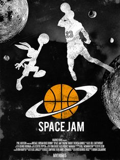 Space Jam is by far my favorite childhood movie of all time and still is my favorite movie of all time