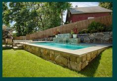 Above Ground Pool Ideas - In the summer, people like spending few hours in the swimming pool. However, you may hate the way your above ground pool looks in your backyard. Above Ground Pool Landscaping, Backyard Pool Landscaping, Backyard Pool Designs, Above Ground Swimming Pools, In Ground Pools, Landscaping Ideas, Backyard Ideas, Semi Above Ground Pool, Oberirdischer Pool