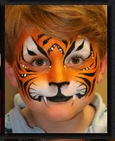Face painting would be great for a carnival party.