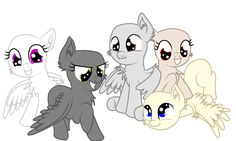 MLP:+Base+Pegasus+by+TalinTheKiller.deviantart.com+on+@DeviantArt