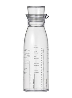 dressing shaker - 6 x 20 - transparant - HEMA Cooking Utensils, Kitchen Utensils, Sauces, Carafe, Dressings, Water Bottle, The Originals, Drinks, Products
