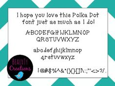 Check out this font in my TPT store!!