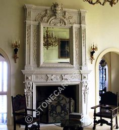 old european fireplaces - Google Search