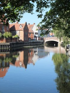Reflections on the River Wensum, Norwich