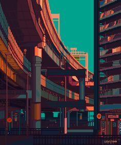 Love in Pixel Aesthetic Japan, Neon Aesthetic, Aesthetic Anime, Arte 8 Bits, Pixel Art Background, Wallpaper Animes, Arte Cyberpunk, Pix Art, Vaporwave Art