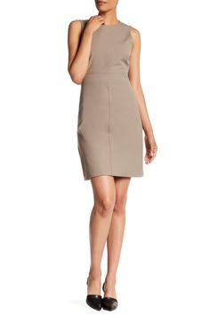 Sleeveless Solid Dress by Theory on @nordstrom_rack