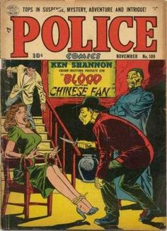 Confucius say: Damsel in distress will get blood on her lovely dress. Ken Shannon say: Drop the knife, Moo Goo Gai Pan Boy!