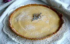 Citronovy koláč s levandulí Menu, Lemon Tarts, Menu Board Design