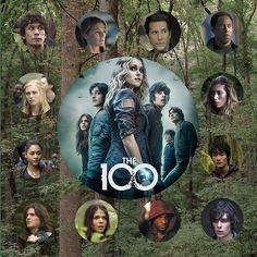 The 100    Bellamy Blake, Clarke Griffin, Raven Reyes, Finn Collins, Octavia Blake, Lincoln, Jasper Jordan, Monty Green, Anya, Thelonius Jaha, Marcus Kane, Abby Griffin