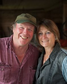 Bebo and Lori Webster of Emergo Farms in Danville VT - just one of the amazing 1200 farm families who own Cabot!