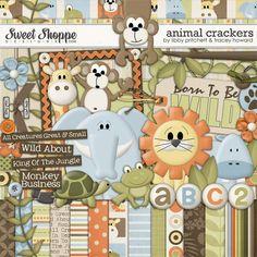 Animal Crackers by Libby Pritchett & Tracey Howard