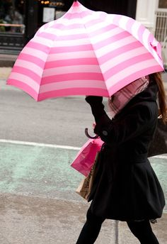 Pink makes you happy in the Rain................
