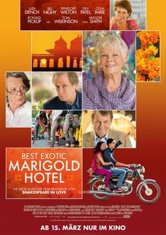 Best Exotic Marigold Hotel - I really liked this movie. It's feel-good and cute.