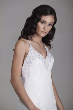 All in the details! This @goddessbynature AVA Gown is made with premium sequins fabric and floral lace trims. For the daring bride, this is your gown. See more here: https://shop.goddessbynature.com/products/ava-mermaid-sequins-gown