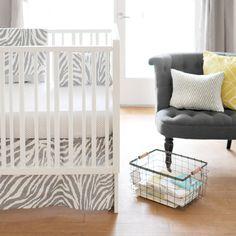 Safari 4 Piece Crib Bedding Set | Wayfair