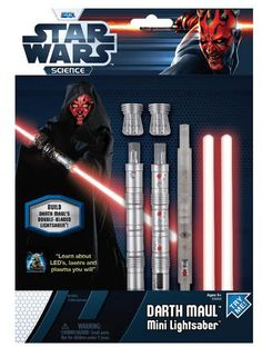 Mini sable Star Wars. Darth Maul