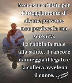 Italian Quotes, Chakra Meditation, Magic Words, Osho, Reiki, Karma, Philosophy, Affirmations, Buddha