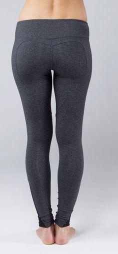 Heather Grey Hot Yoga Legging