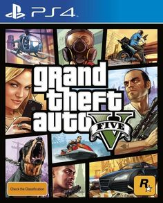 GTA V Grand Theft Auto 5 Sony PS4 PRE-ORDER NEW