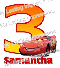 CARS Lightening McQueen Custom Birthday by SoSweetCandyBuffets
