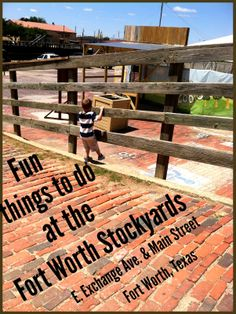 Fun Thing to do at the Fort Worth Stockyards, FTW, TX @Visit Fort Worth Texas - http://www.mommieagain.com/2014/05/fun-thing-to-do-at-fort-worth.html#.U2olylfDVsg