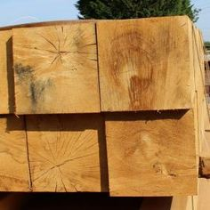 Structural Green Oak Beams x are stocked by UK Timber, one of the leading suppliers of Structural Green Oak Beams. We stock a wide range available for delivery throughout the UK to the trade and public. Railway Sleepers, Garden Studio, Beams, This Is Us, Wood, Green, House, Stuff To Buy, Pergola Ideas