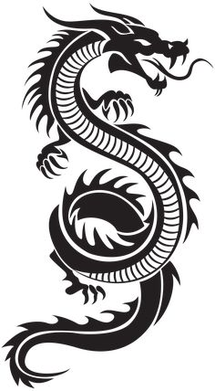 Chinese Dragon Silhouette PNG Clip Art Chinesischer Drache Silhouette PNG ClipArt # Art This image. Dragon Tattoo Drawing, Red Dragon Tattoo, Tribal Dragon Tattoos, Small Dragon Tattoos, Chinese Dragon Tattoos, Dragon Tattoo Designs, Chinese Dragon Drawing, Small Tattoos, Dragon Tattoo With Fire