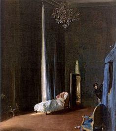 """""""The Convalescent: Gertrude Vanderbilt Whitney in Paris"""" c.1914  - Sir William Nicholson"""