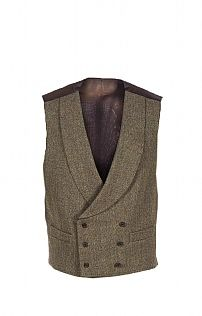 Made to an immaculately high standard with a quality finish, this sophisticated double breasted tweed waistcoat always commands attention. How To Look Classy, Look Cool, Indian Men Fashion, Mens Fashion, Double Breasted Waistcoat, Tweed Waistcoat, Morning Suits, Tweed Run, Casual Skirt Outfits