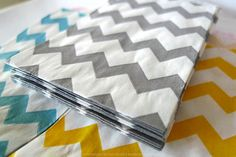 Party Favor Bags GREY Chevron Stripe Pattern 2.75 x 4 in Popular Wedding, BIrthday Party Bags - Packet of 20
