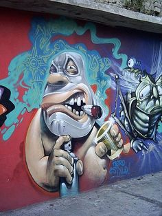 af1ad035a Graffiti Wall Art, 3d Street Art, Mural Art, Street Art Graffiti, Street