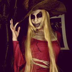 Image result for scary scarecrow makeup